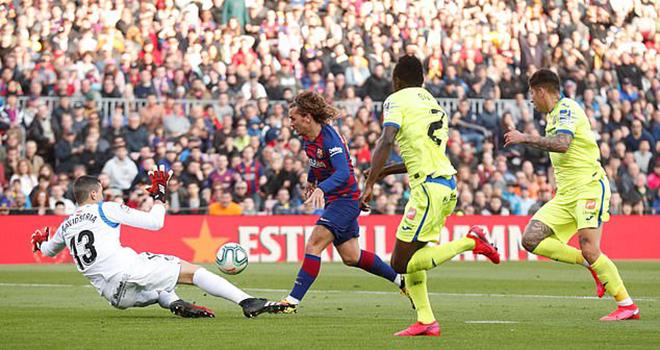 Ket qua bong da, Barca vs Getafe, Barcelona vs Getafe, video Barca 2-1 Getafe, video Barcelona vs Getafe, kết quả La Liga, kết quả Tây Ban Nha, BXH La Liga, bóng đá, kqbd