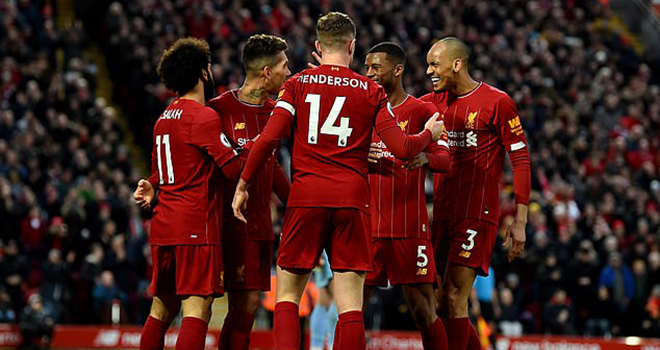 Bong da, bong da hom nay, Liverpool, Liverpool vô địch sớm, Ngoại hạng Anh, Premier League, BXH Ngoại hạng Anh, BXH bóng đá Anh, lịch thi đấu Ngoại hạng Anh, bóng đá Anh