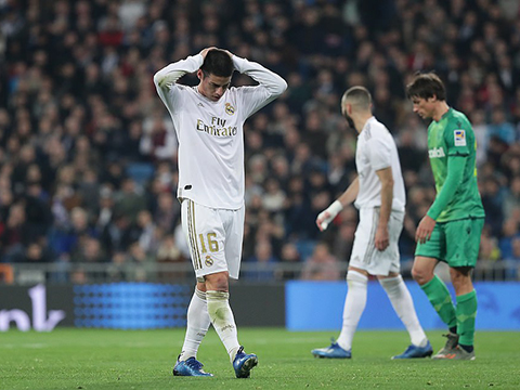 Real Madrid 3-4 Sociedad: Mưa bàn thắng ở Bernabeu, chủ nhà nuốt hận