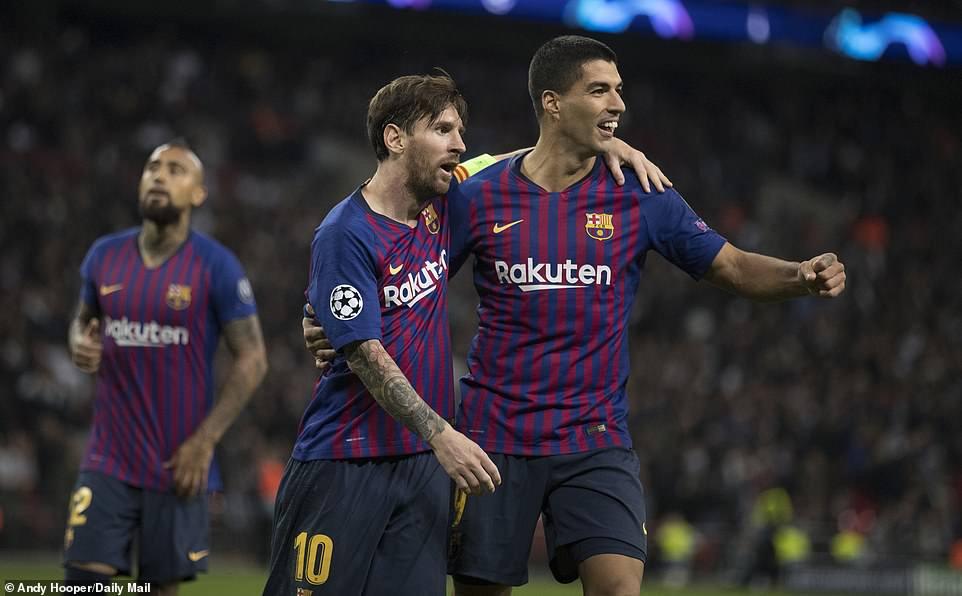 Barca, Messi, Barcelona, video Tottenham 2-4 Barcelona, video bàn thắng Barcelona, Messi lập cú đúp, Lionel Messi ghi bàn, Harry Kane, kết quả Cúp C1, Barca chiến thắng