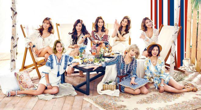 SNSD 'thống trị' các nhóm nữ Kpop về doanh số album