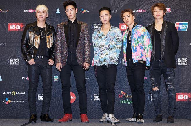 Xôn xao tin các thành viên Big Bang sẽ đồng loạt nhập ngũ vào năm 2018