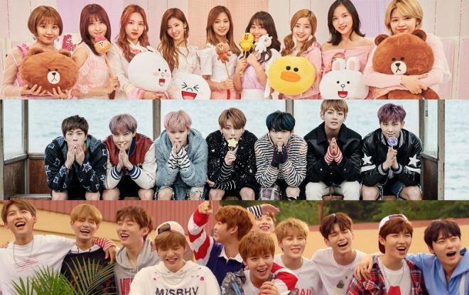 BTS, TWICE và Wanna One lọt Top 30 nhân vật quyền lực nhất làng giải trí Hàn Quốc 2017